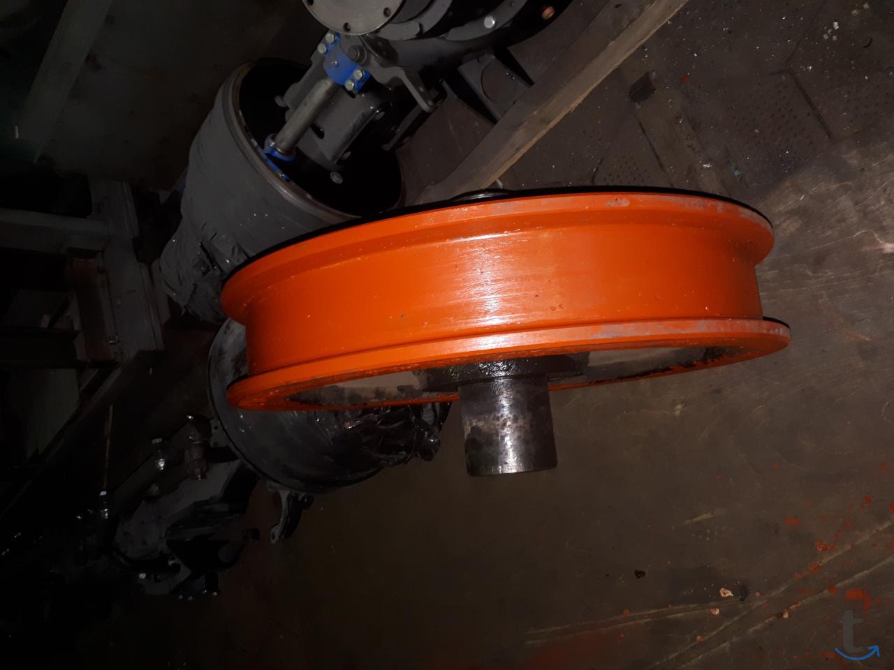 Ремонт и наплавка крановых колес...