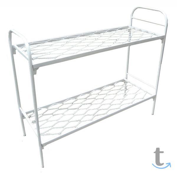 Высокопрочные кровати металличес...