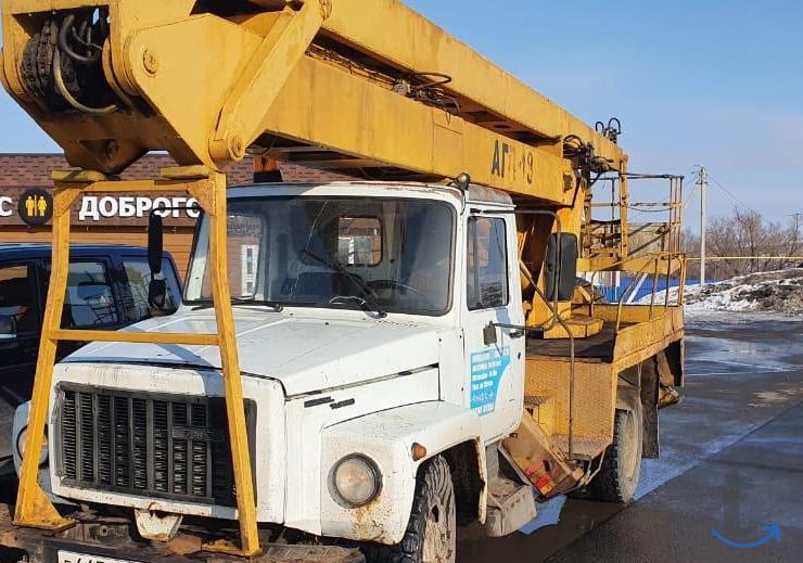 Автовышка АГП-18 Газ 3309 2007 г.в