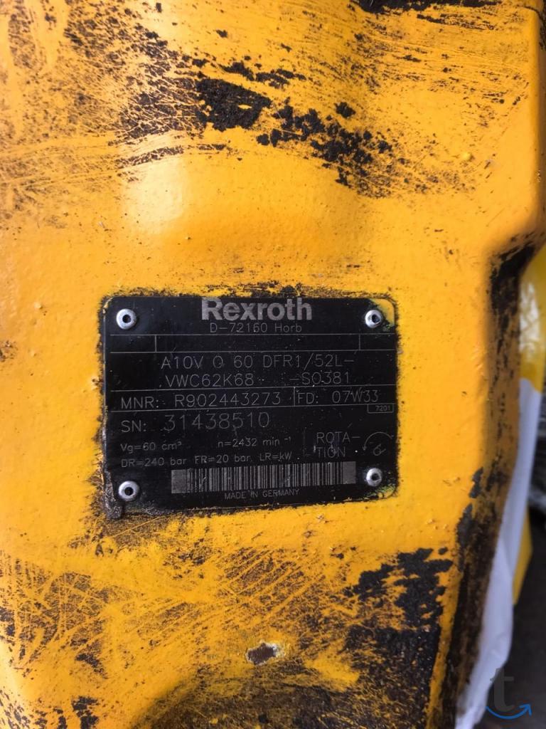Насос Rexroth A10VO60DFR1/52L