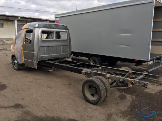 Переделать Газель пассажирскую Газ 2705 в грузовую