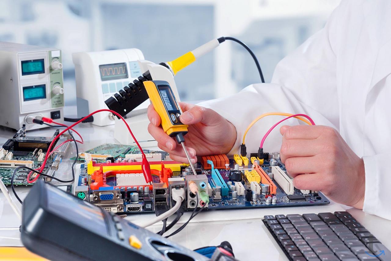 Ремонт промышленной электроники ...