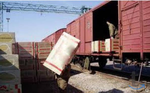 Разгрузка Фур,контейнеров.