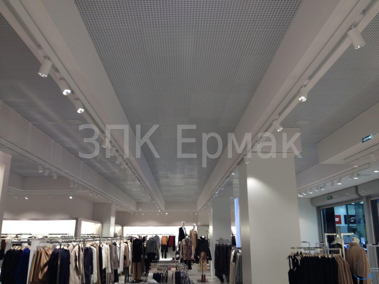 Подвесной потолок, производство