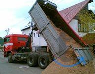 Песок щебень пгс отсев супись грунт с доставкой
