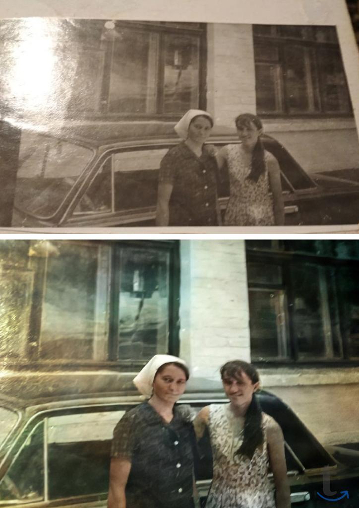 Реставрация фотографий, восстано...