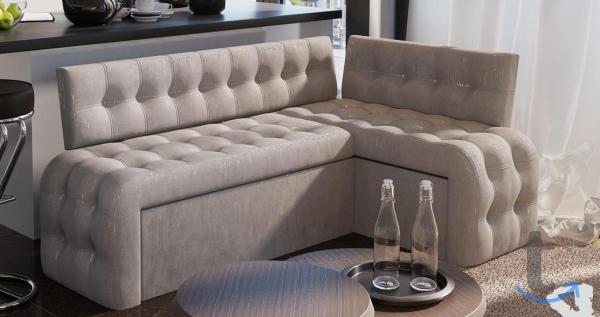 Кухонный угловой диван со спальн...