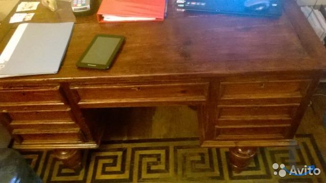Старинная мебель стол письменный