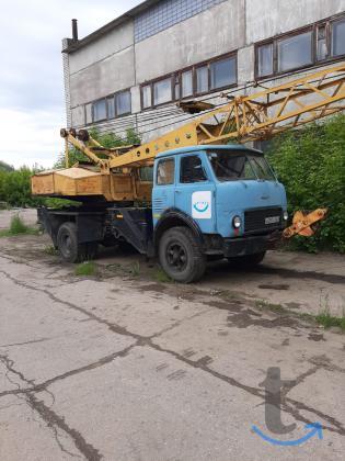 Автокран дизель электрический СМ...
