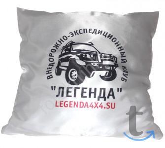 Подушка с печатью фото, лого, пр...
