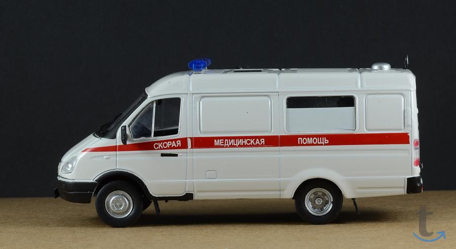 Автомобиль на службе №11 Газ-32...