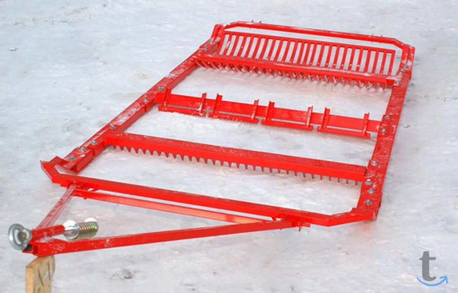 Резак для лыжни, борона для лыжн...