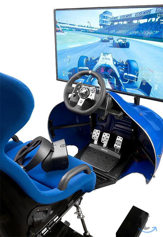 Развлекательный симулятор гонок ...