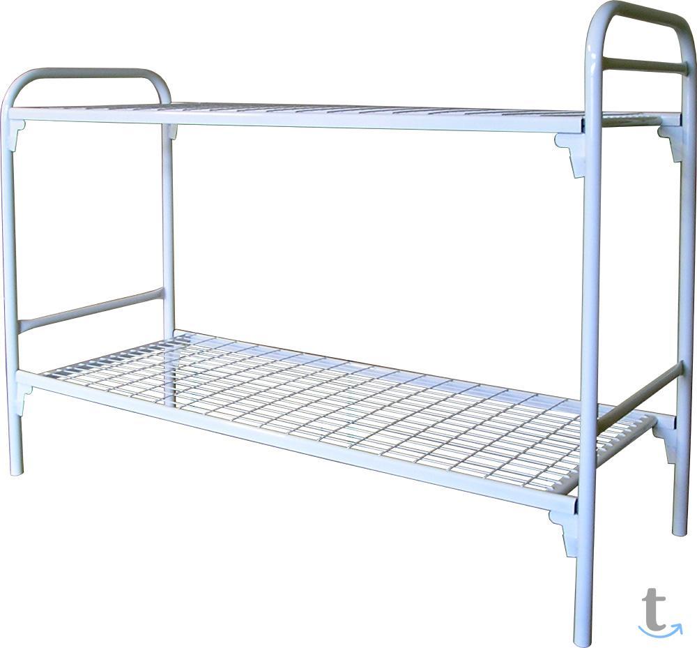 Металлические кровати ГОСТ образ...