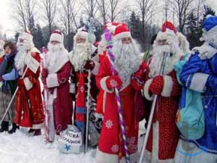 Дед Мороз, Снегурочка и другие с...