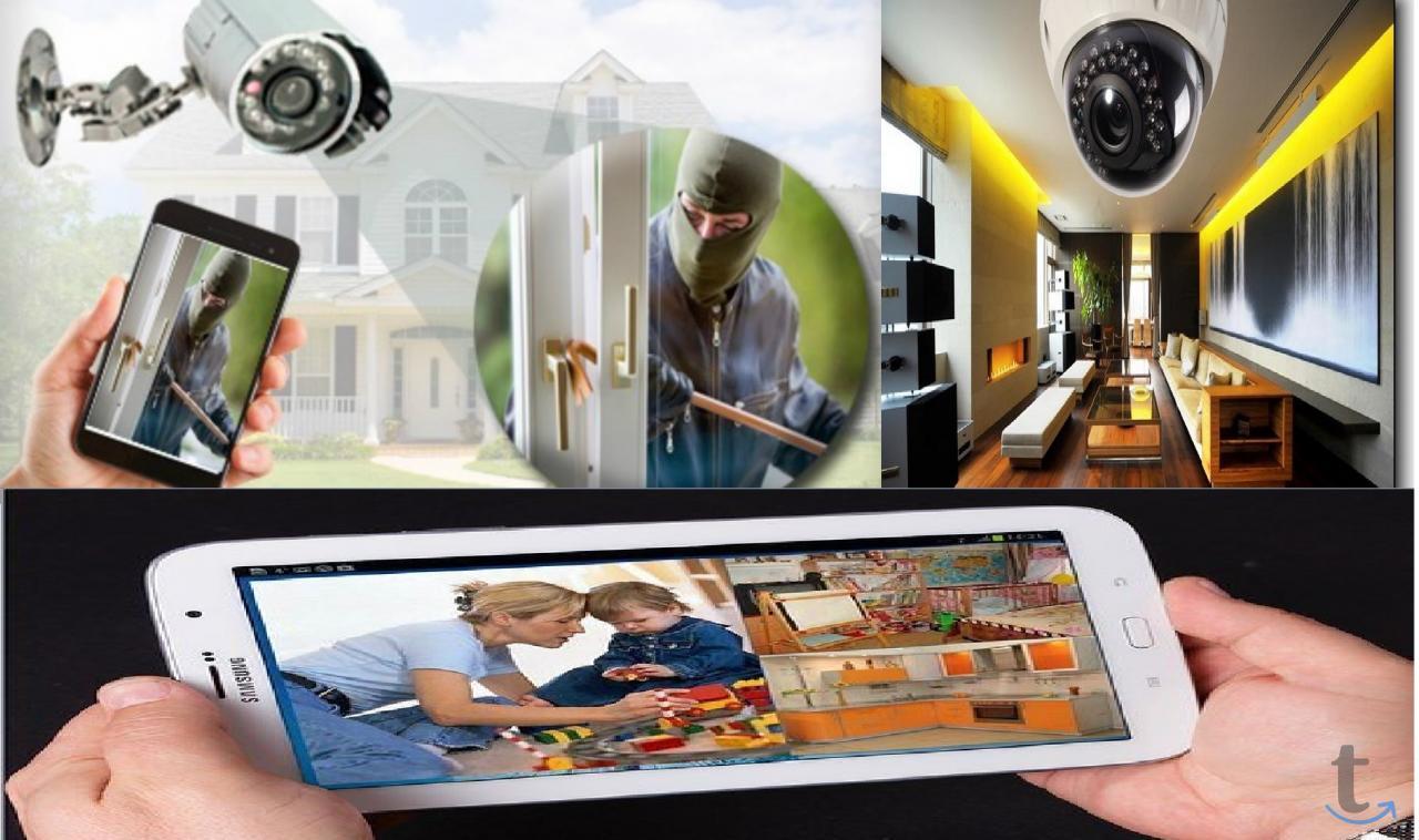 Системы охраны для дома и дачи.