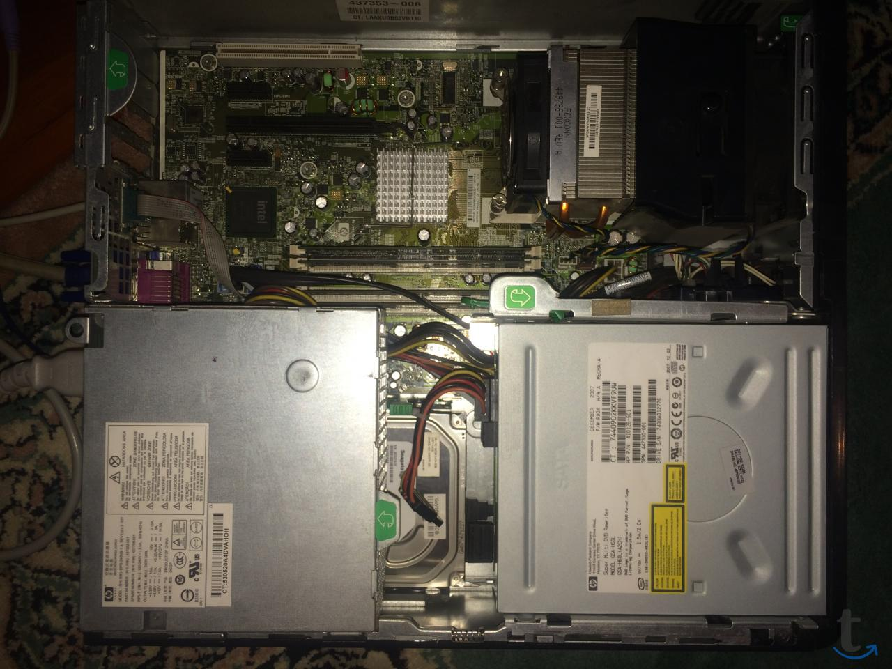 Фирменный системный блок dc7800