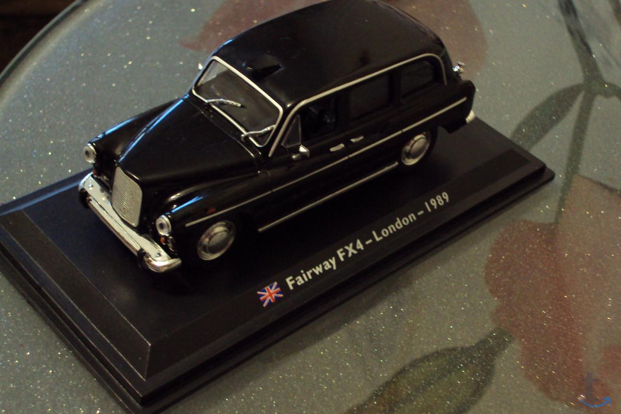 Автомобиль Fairway FX4 LONDON 1989