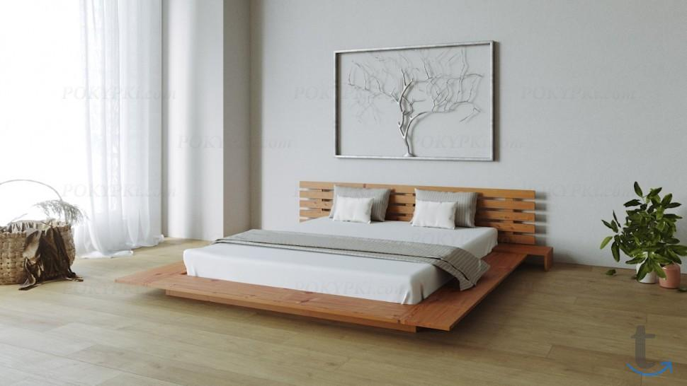 Двуспальная интерьерная кровать ...