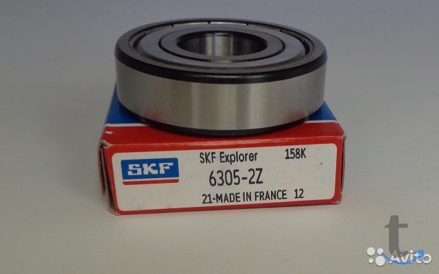 Подшипник 6305 2Z (305) SKF Фран...
