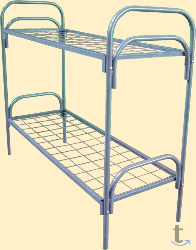 Кровати с металлической сеткой и...