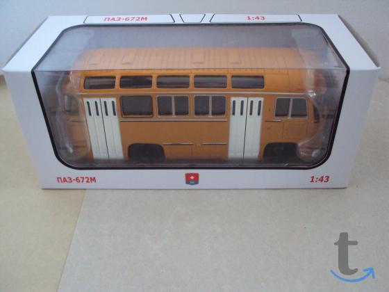 Модель автобуса паз 672 м