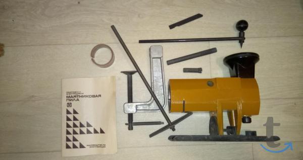 Приставка-лобзик к электродрели