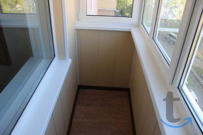 Балкон (остекление, обшивка, мон...