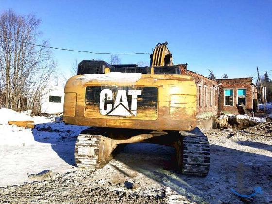 Гусеничный экскаватор CAT 336, 2...
