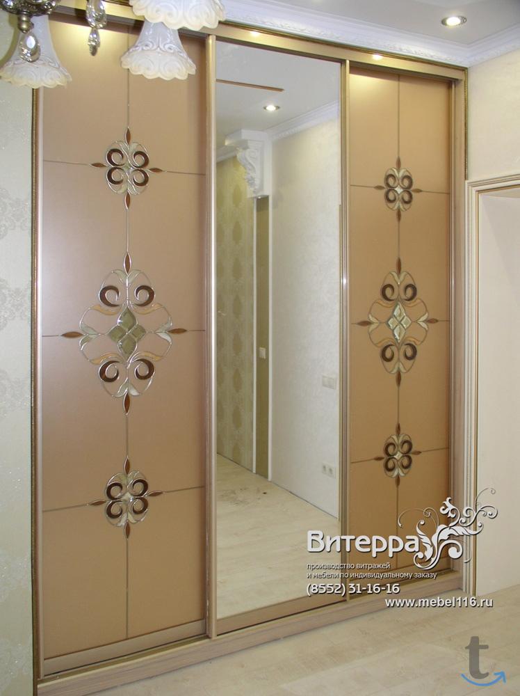 Любые шкафы-купе С ВИТРАЖНЫМ НАН...