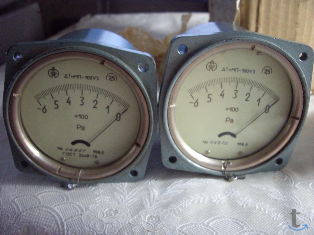 Дифманометр-тягомер ДТмМП-100