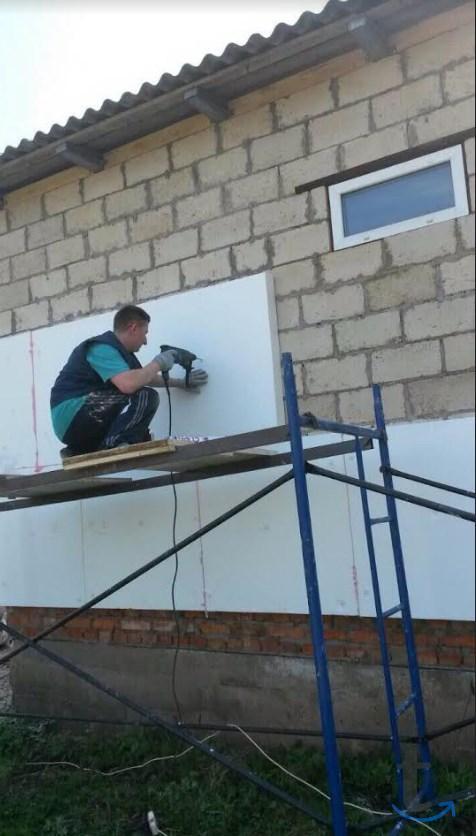 Утепление стен отделка фасадов