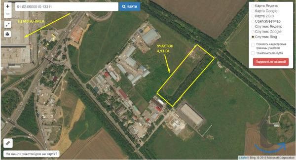 Продам земельный участок площадь...
