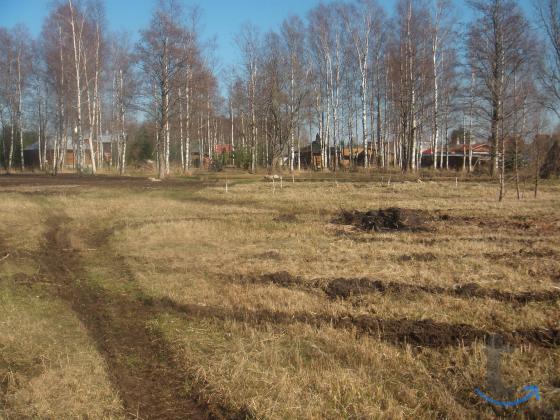 разработанный земельный участок ...