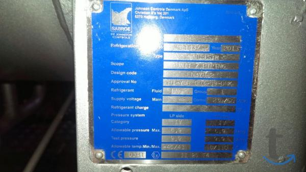 ДКС на основе компрессора SAB151S
