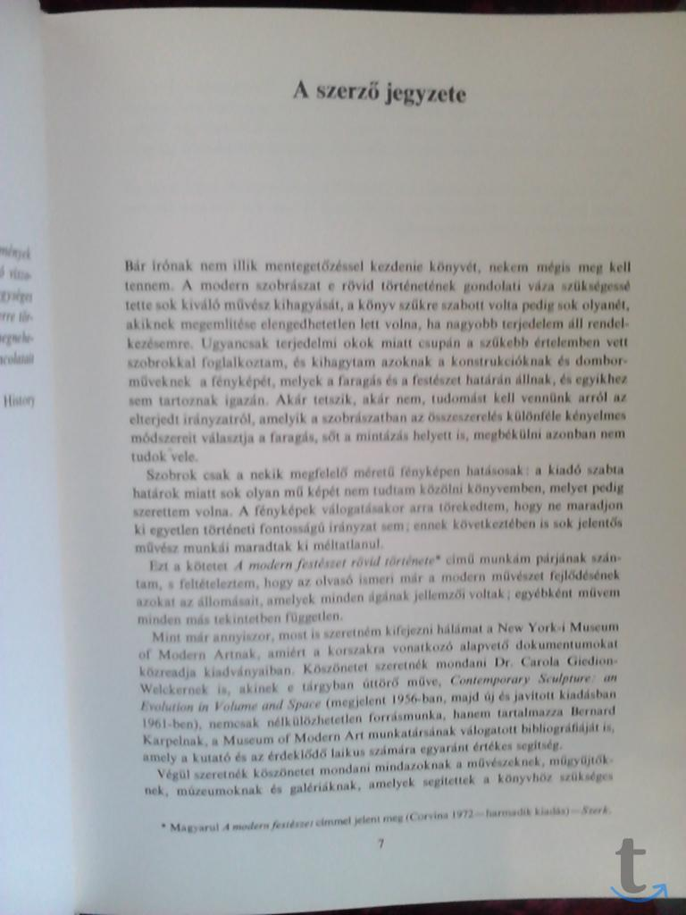 Herbert Read- A modern Szobrasza...