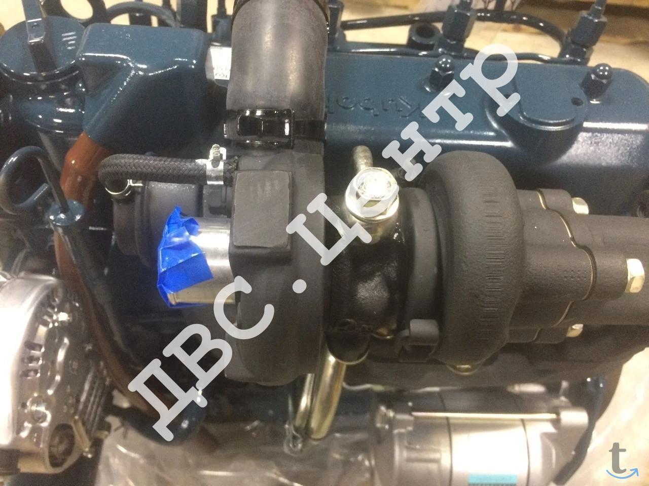 Двигатель Kubota 1505T на тракто...