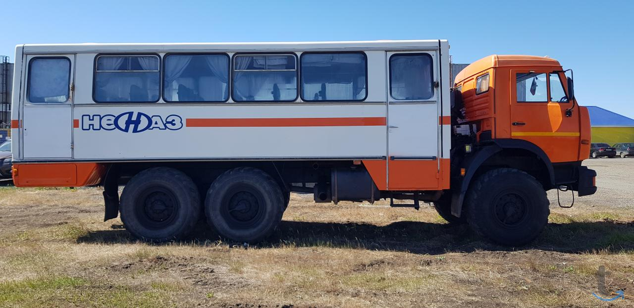 КАМАЗ 43114 вахта