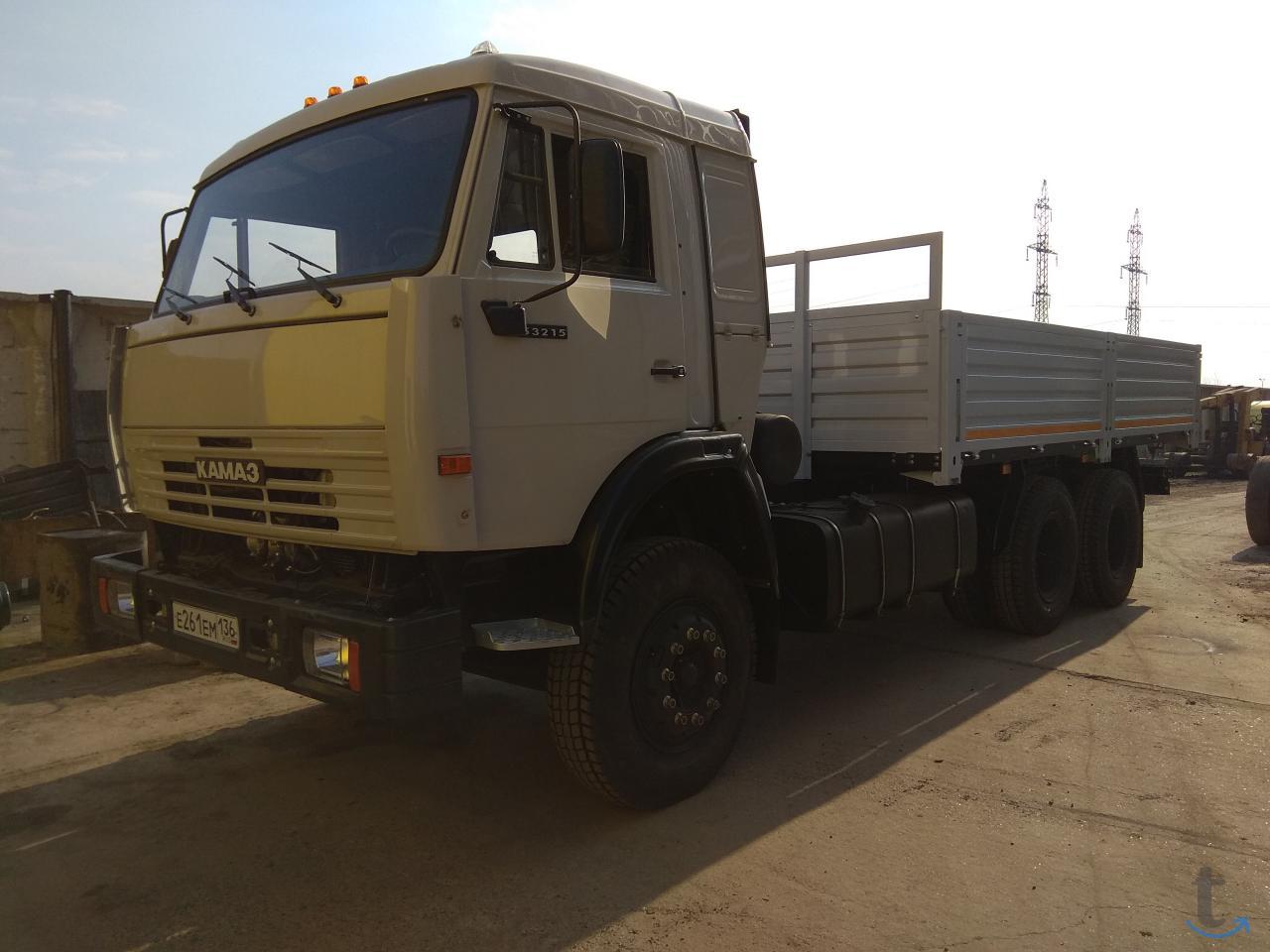КАМАЗ 53215 бортовой под КМУ