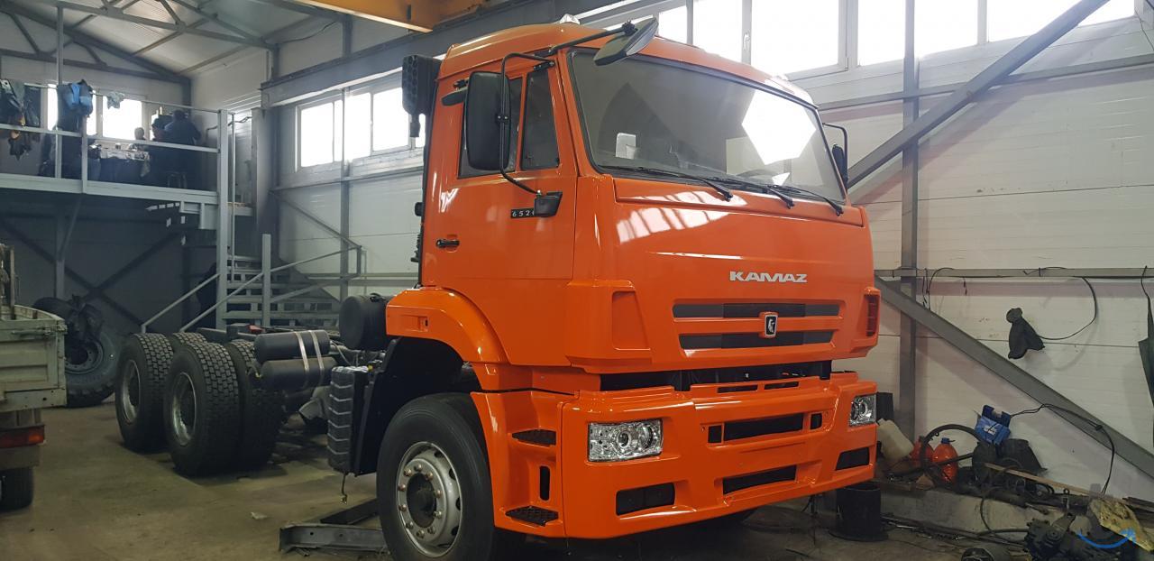 КАМАЗ 6520 шасси
