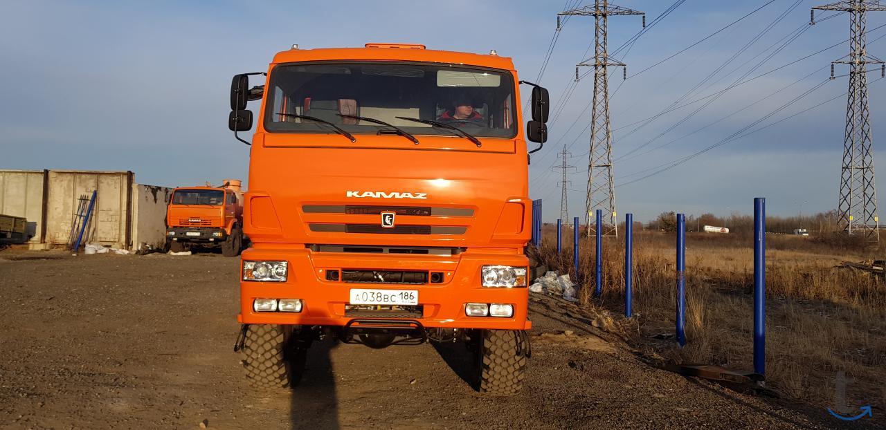 КАМАЗ 6522 шасси