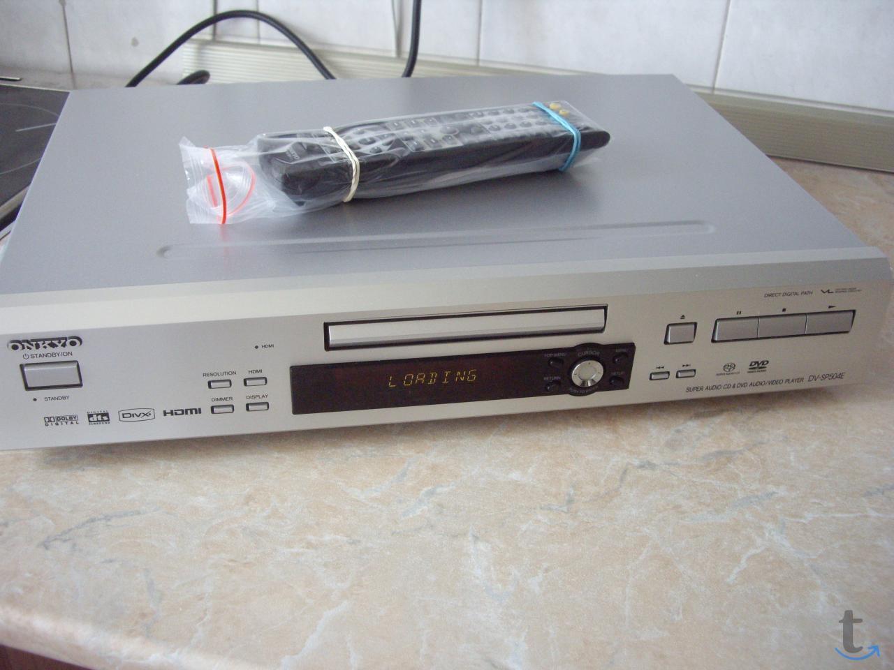 Проигрыватель  ONKYO DV-SP504E  ...