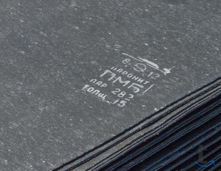 Паронит листовой пон-б (0.5-4 мм...
