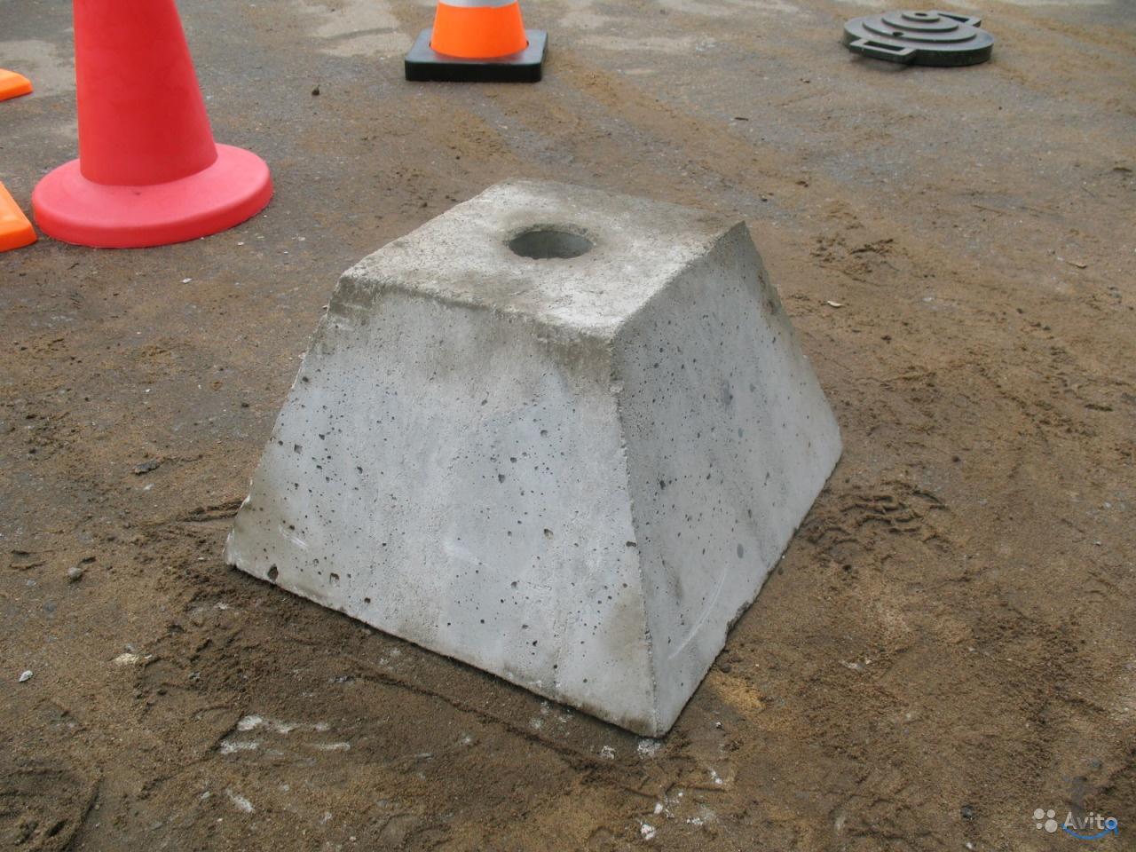 Фундамент под дорожные знаки на ...