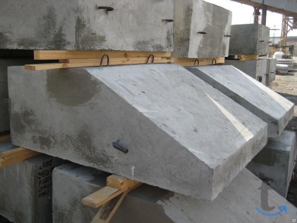 Утяжелители бетонные охватывающе...