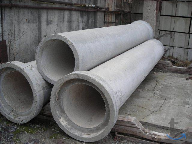 Трубы железобетонные раструбные безнапорные армиров.
