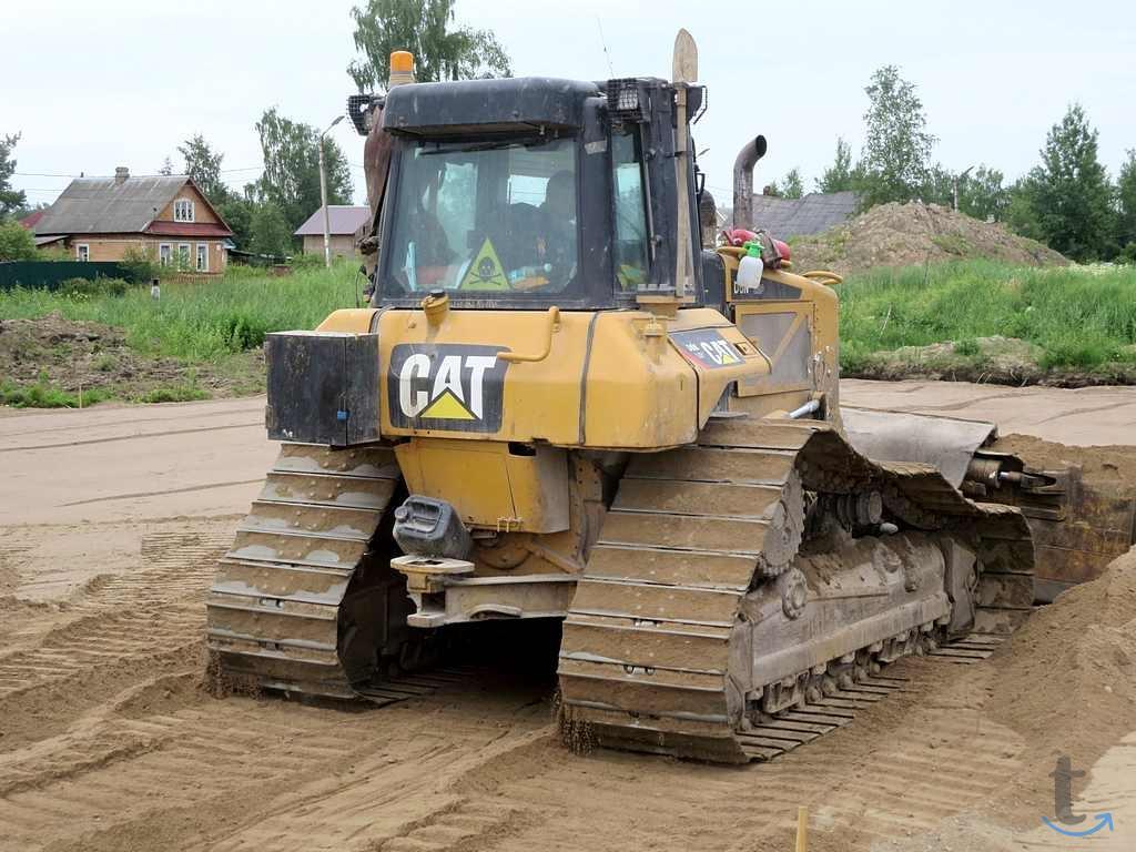 Бульдозер CAT D6 LGP, гарантия